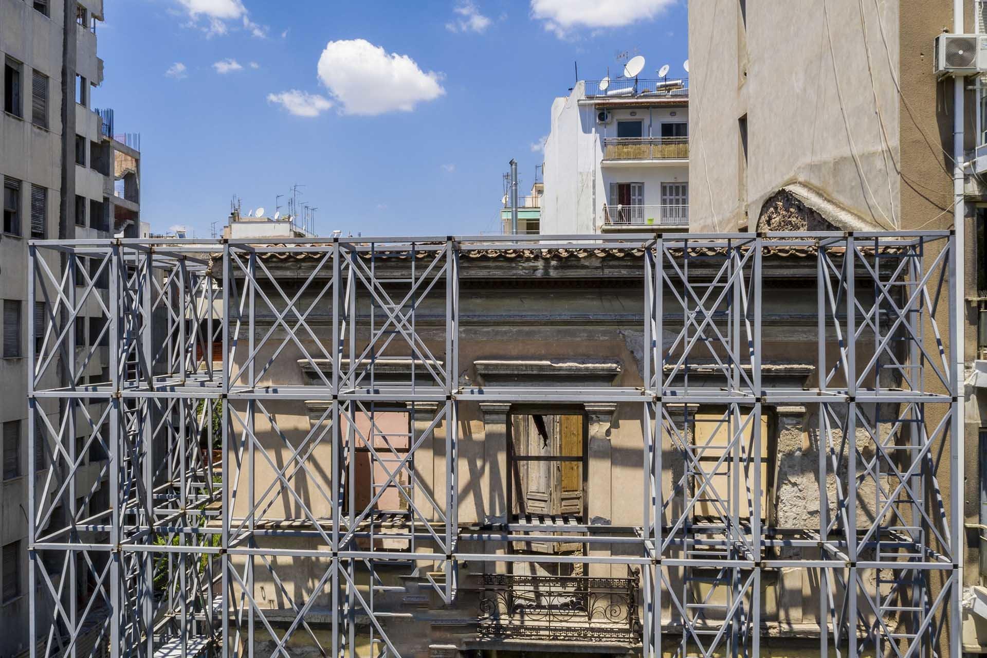 αναπαλαίωση κτίριο μνημείο με drone