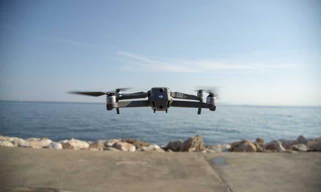 αεροφωτογράφιση με drone