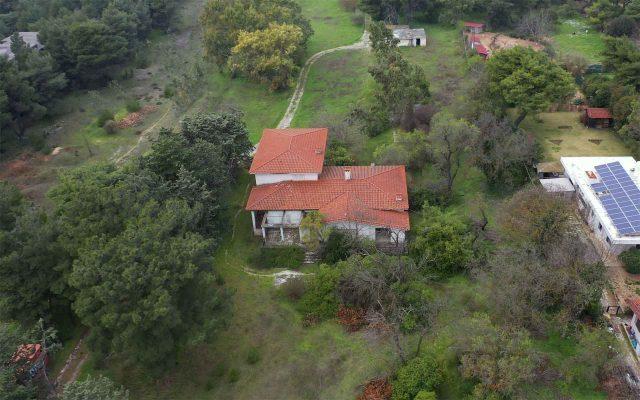 αεροφωτογράφιση οικοπέδων με drone
