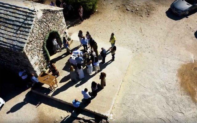 βάφτιση με drone