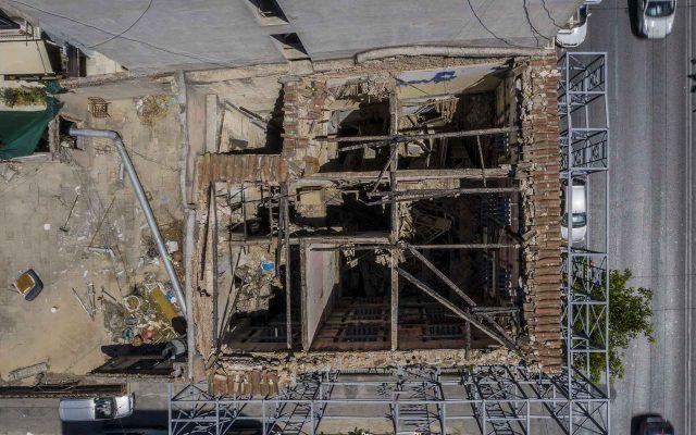 πλεονεκτήματα εναέριων λήψεων κτιρίων με drone