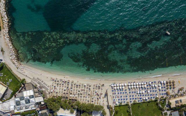 beach bar με drone