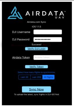 airdata-login